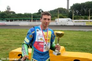 Michał Gruchalski w sezonie 2014 sięgnął po tytuł IMP w miniżużlu