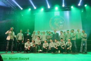 Prezentacja drużyny przed sezonem 2013 w Hali Sportowej Częstochowa