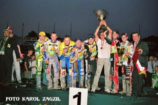 Top Secret Włókniarz Częstochowa - Drużynowy Mistrz Polski w sezonie 2003