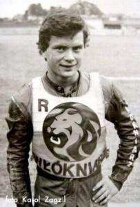 """W 1983 roku licencję """"Ż"""" zdobywa Dariusz Rachwalik i przebojem wchodzi do składu Włókniarza"""