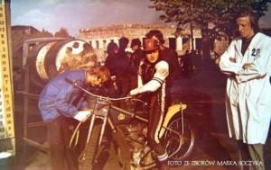 Pechowa kontuzja wyeliminowała Marka Cieślaka z szansy udziału w finale IMŚ 1973