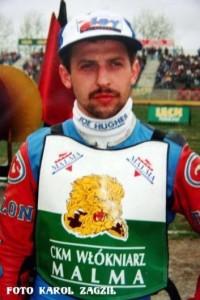 W 1996 roku ekipę Włókniarza zasilił wychowanek lubelskiego Motoru, Robert Jucha