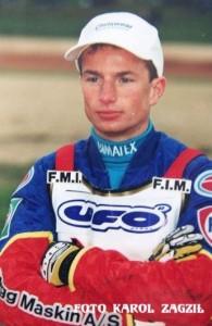 W 1999 roku do ekipy Włókniarza trafił Norweg, Rune Holta