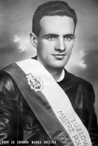 Indywidualny Mistrz Polski 1959 Stefan Kwoczała