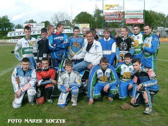 Częstochowska szkoła żużla w sezonie 2008